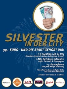 Silvester inn der City 2012 - 2013